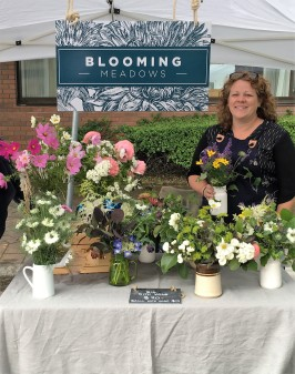 Blooming Meadows market stand